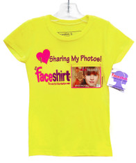 NEW! Fun Foto-Fashion - Wear, Share & Change the Photo on your shirt whenever you want - How cool is that! Make someone feel special by wearing their photo sooo... Who's Face Will You Wear!