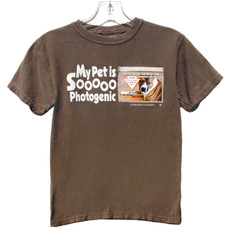 NEW! Pet Lovers Unisex T-shirt - Wear, Share & Change your FAV Pet Photos with everyone you meet. Insert Photo into Pix-Pocket and Show your Pet Pride! Available in several colors for kids and young adults. 100% Double Stitched Seam Cotton.