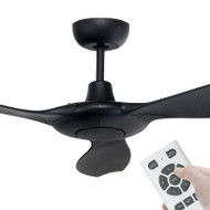 Brilliant Concorde DC Motor 152cm Black & Remote Ceiling Fan