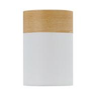 Telbix Akira DIY Ceiling Batten Fix Light White & Oak