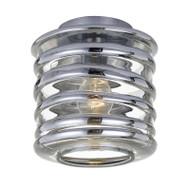 Telbix Vess DIY Ceiling Batten Fix Light Chrome & Chrome