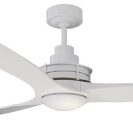 Mercator Flinders 140cm White Ceiling Fan & LED Light