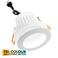 Brilliant Delta 7w 6-In-One TRI-COLOUR LED Down Light