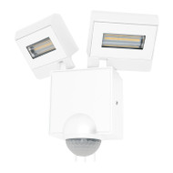 Mercator Cheetah 2 X 11w LED Exterior Spotlight & Sensor White