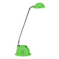 Brilliant Lolli 3w LED Desk Lamp Rubber Green