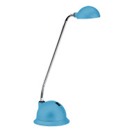 Brilliant Lolli 3w LED Desk Lamp Rubber Blue