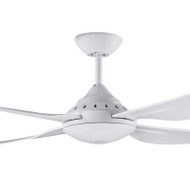 Deka Russell 120cm White Plastic Indoor/Outdoor Ceiling Fan