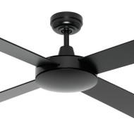 Mercator Caprice 130cm Black Timber Ceiling Fan