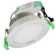 Plusrite AU08 10w 5000K LED Down Light Satin Chrome