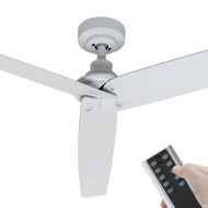 Mercator Bermuda DC Motor 130cm White & Remote Ceiling Fan