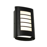 Cougar Bicheno LED Exterior Wall Light Black