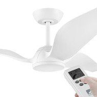 Eglo Seagull DC Motor 142cm White & Remote Ceiling Fan