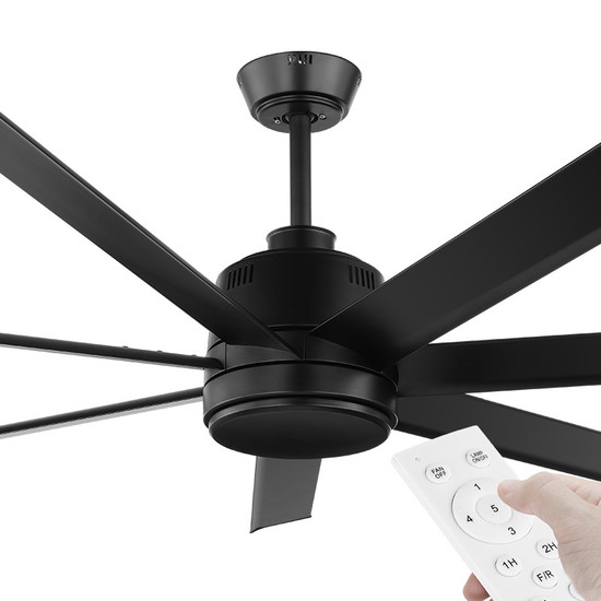 Eglo Tourbillion Dc Motor 152cm Black Amp Remote Ceiling Fan Galaxy Lighting Amp Fans