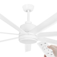 Eglo Tourbillion DC Motor 203cm White & Remote Ceiling Fan