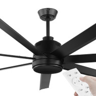 Eglo Tourbillion DC Motor 203cm Black & Remote Ceiling Fan