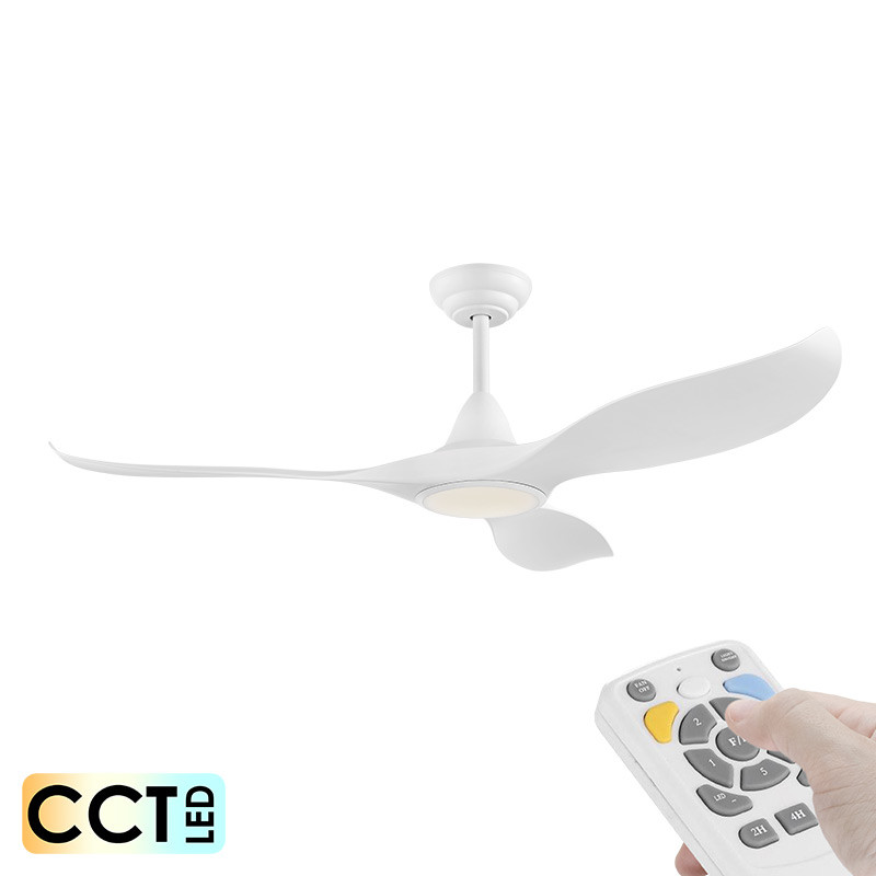 Eglo Noosa Dc Motor 152cm White Led Light Remote Ceiling Fan Galaxy Lighting Fans