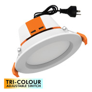 Mercator Apollo 9w TRI-COLOUR LED Down Light