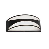 Mercator Cahill LED Exterior Wall Light Black