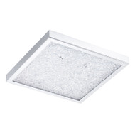 Eglo Cardito 32w LED Crystal Square Ceiling Light 4200K