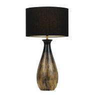 Telbix Tamar Black & Gold Table Lamp