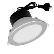 Mercator Retina Mini 6w 3000K LED Down Light Silver