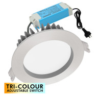 Mercator Optica Trio 10w TRI-COLOUR LED Down Light B/Chrome