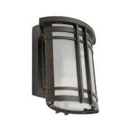 Mercator Alix Small Exterior Wall Light Oil Rubbed Bronze