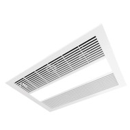 Ventair Sahara 3-in-1 White Exhaust Fan Light & Heater
