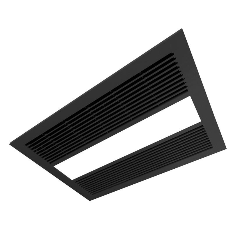 Ventair Sahara 3-in-1 Black Exhaust Fan Light & Heater ...