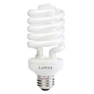 Lumos  26w E27 Spiral CFL 3000K Warm White