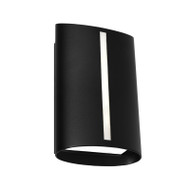 Cougar Temma LED Exterior Wall Light Black