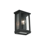Cougar Madrid Small Exterior Wall Light Black