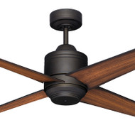Mercator Pisa 130cm Bronze Motor Timber Blade Ceiling Fan