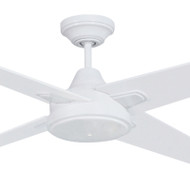 Mercator Ciesta 130cm White Motor Timber Blade Ceiling Fan