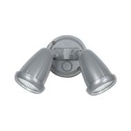 Telbix Illume 2 X 10w LED Exterior Spotlight Silver