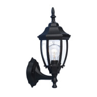 Mercator Dakota Coach Exterior Wall Light Black