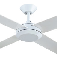 Hunter Pacific Concept 3 130cm White Plastic Indoor/Outdoor Ceiling Fan