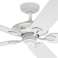 Hunter Maribel 132cm White Plastic Blade Ceiling Fan