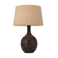 Telbix Mimi Antique Brass & Cream Table Lamp