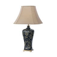 Telbix Nashi40 Blue & Taupe Table Lamp