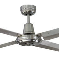 Mercator Swift 140cm B/Chrome & 304 Stainless Fan