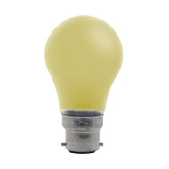 GE 25w B22 Incandescent GLS Shape Yellow Party