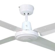 Mercator Swift 120cm White Metal Ceiling Fan