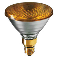 Sylvania 80w E27 Incandescent PAR38 Yellow