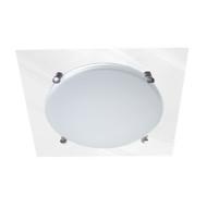 DazLight Torino 2lt Square Mirror Ceiling Oyster