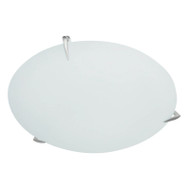 Brilliant Stellar 2lt Frost Glass Ceiling Oyster