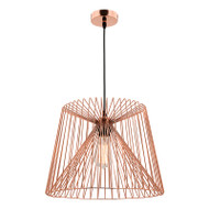 Mercator Zurich Copper Hanging Pendant Large