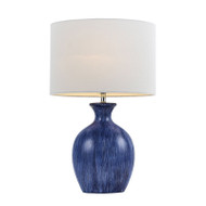 Telbix Panto Blue & White Table Lamp