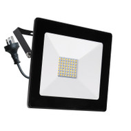 Mercator Ludo 50w 4000K LED Slim Flood Light Black