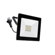 Mercator Ludo 20w 4000K LED Slim Flood Light Black